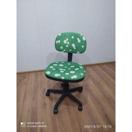 Кресло компьютерное Сеньор без подлокотников ромашка уценка