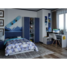 """Детская спальня """"Абрис"""" Комплектация 1"""