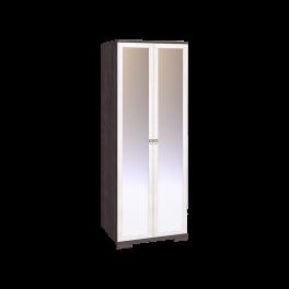 Бриз 12 Шкаф для одежды + ФАСАД Зеркало + Зеркало