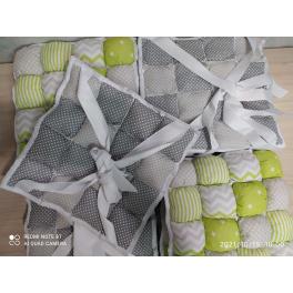 Бортики для кроваток Sleepy зеленый