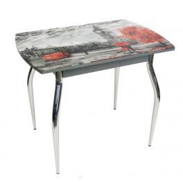 "Обеденный стол ""5.1 mini Лондон серый муар"""